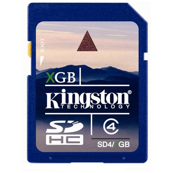 Kingston SDHC 32GB cl 4 Kingston